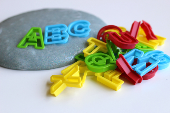 slime alphabet activities