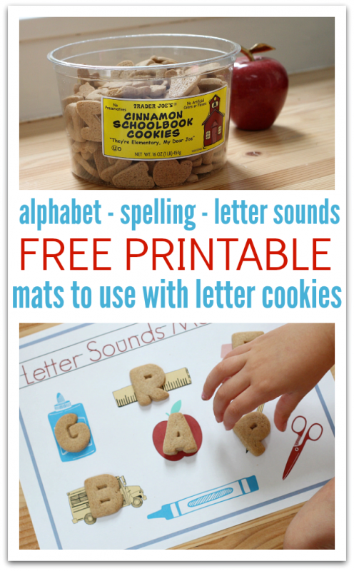 free printables for alphabet cookies