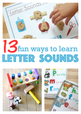 13 Fun Ways To Learn Letter Sounds