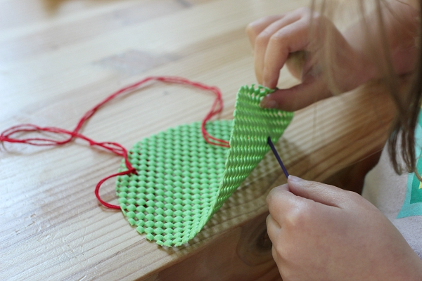apple sewing project for kids