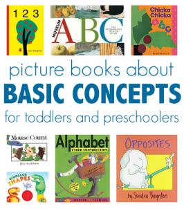 Books To Teach Basic Concepts