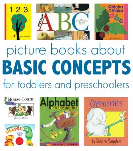 Books To Teach Basic Concepts