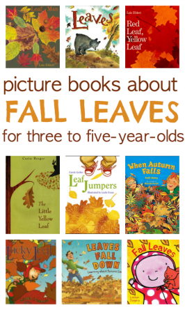 9 Books About Fall Leaves