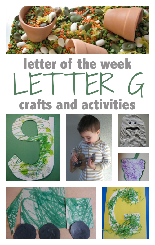 letter g letter of the week