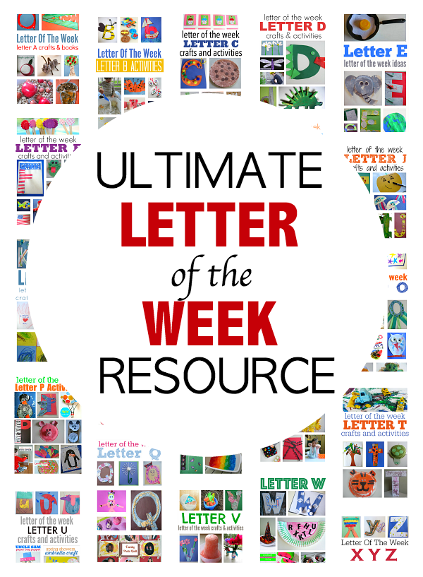 The Ultimate Letter Of The Week Resource For Preschool No
