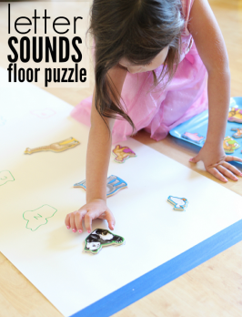Giant Letter Sounds Puzzle
