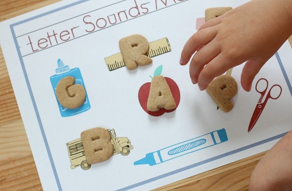 Letter sounds FREE printable