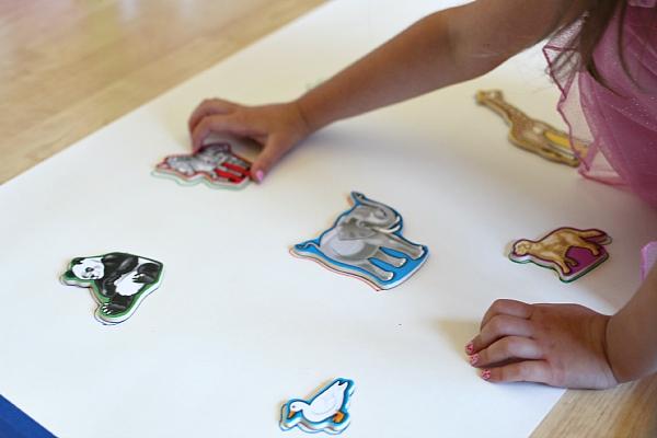 letter sounds puzzle for kindergarten