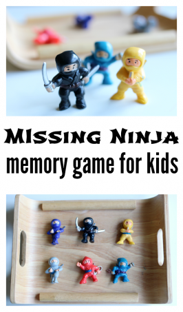 Which Ninja Is Missing? Memory Game For Kids