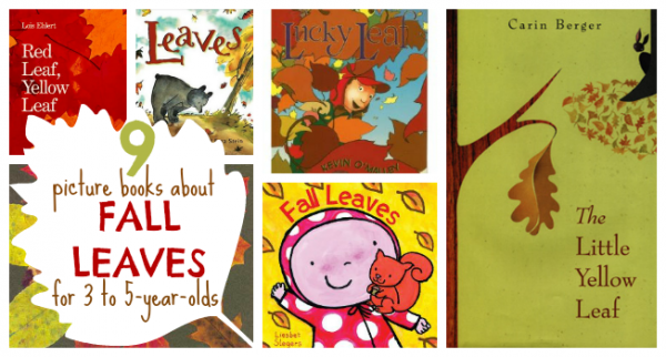 picture books about fall leaves for kids facebook image