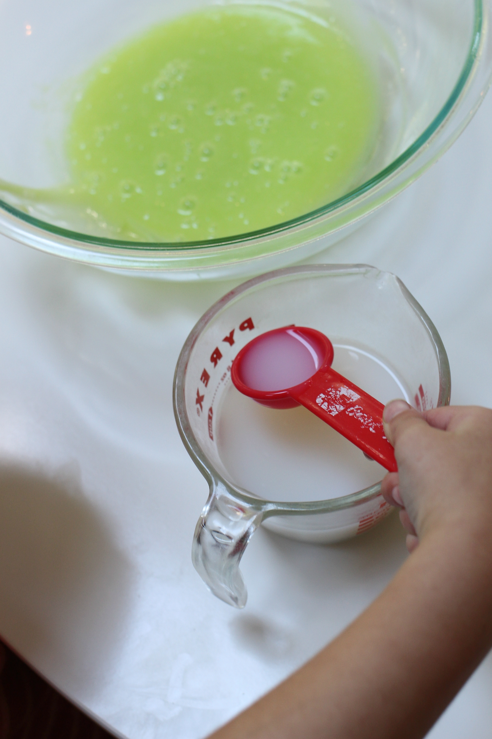 Halloween slime recipe from no time for flash cards