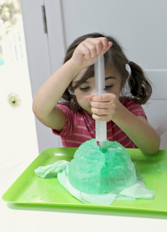 alien ice sceince activity