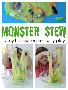 Monster Stew – Halloween Sensory Play