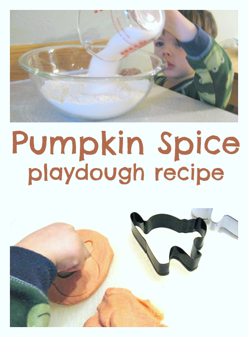 pumpkin spice playdough recipe no cook no time for flash cards