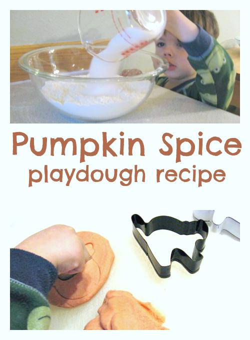 pumpkin spice playdough recipe no cook no time for flash cards