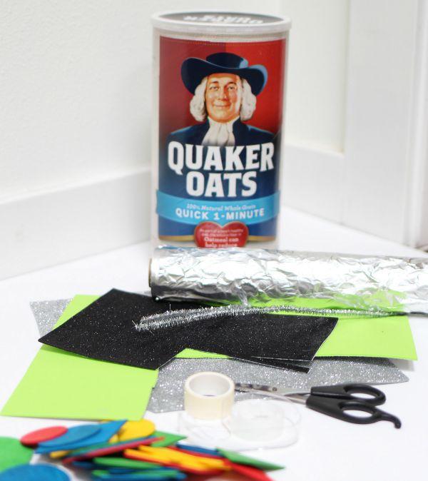 quaker oats robot