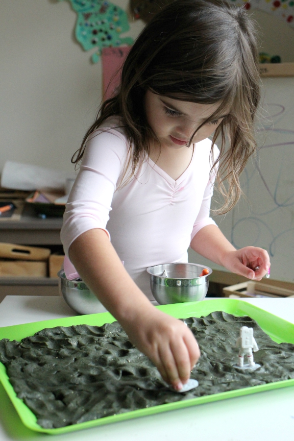 sensory play no time for flash cards