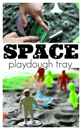 space playdough no time for flash cards.com