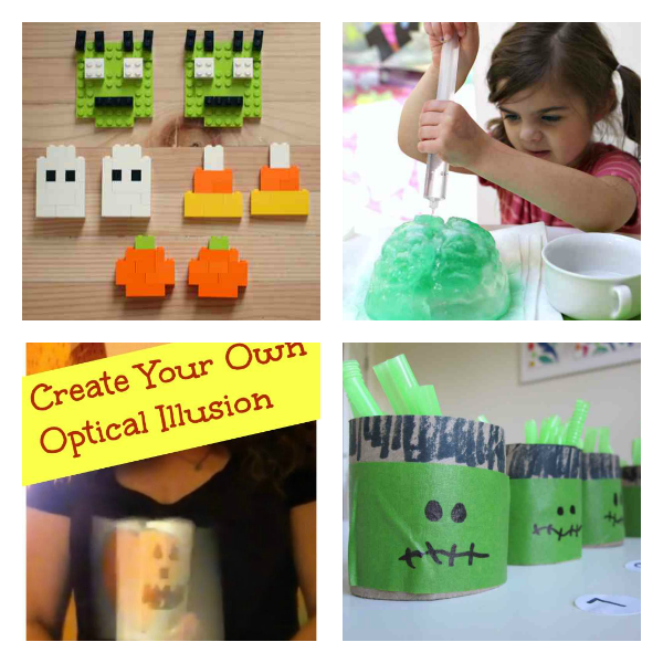 Halloween STEM activities for kids no time for flash cards and KC Adventures