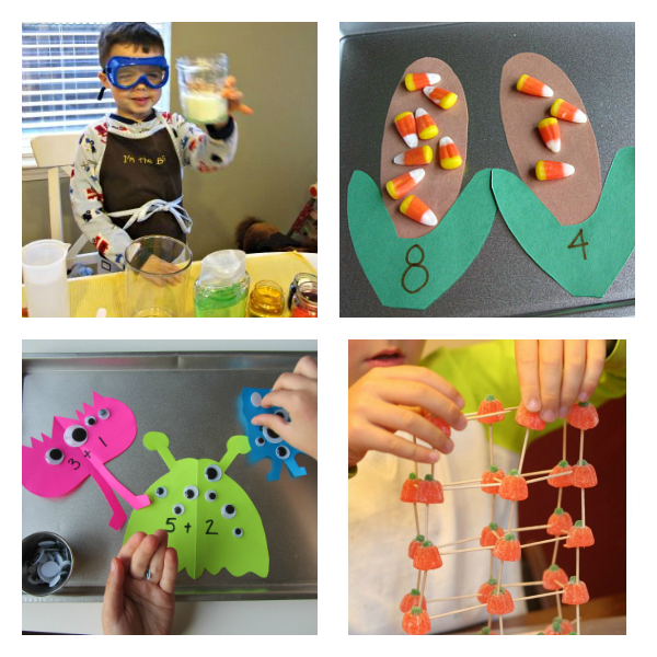 11 Halloween STEM Activities For Kids - No Time For Flash Cards