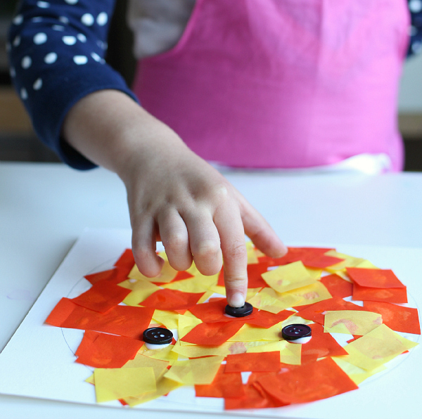easy halloween craft for kids no time for flash cards
