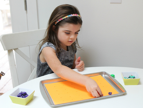 easy halloween one to one correspondence math game for kids