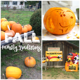 Fall Family Traditions Old & New – How To Make Them Special!