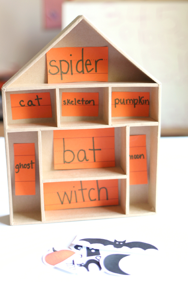halloween literacy activity for kids