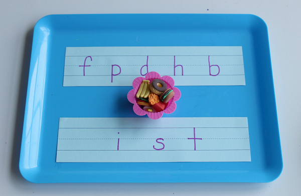 letter sounds tray no time for flash cards