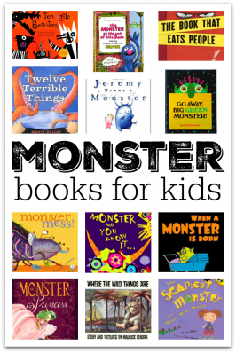 monster books for 3 year olds