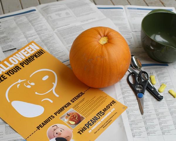 pumpkin newspaper