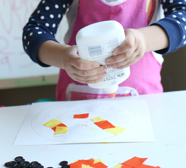 no time for flash cards halloween craft