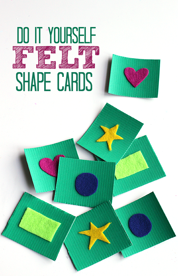 Set Of Shape Flash Cards Royalty Free Stock Images - Image: 14167639