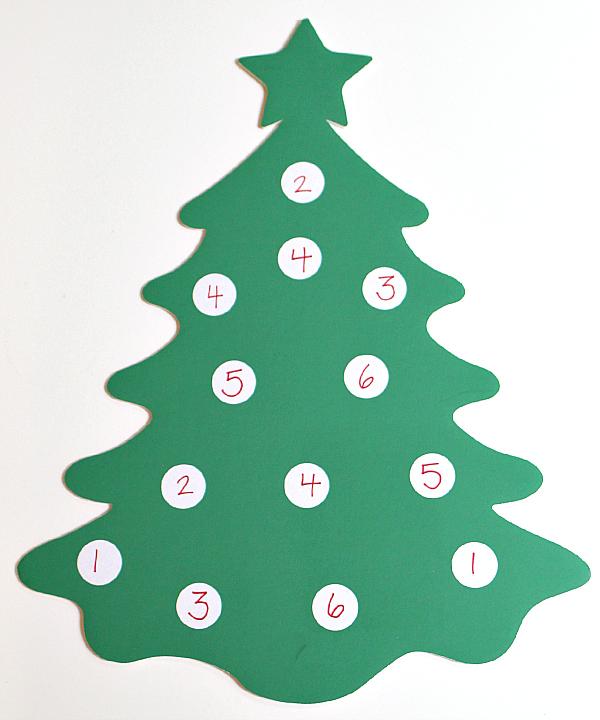 christmas tree dice game