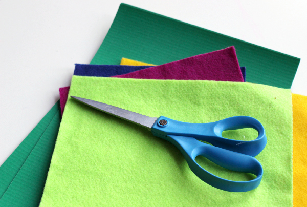 felt shape cards