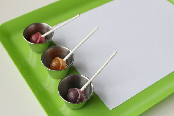 lollipop painting for kids no time for flash cards