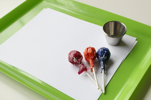 painting with lollipops no time for flash cards