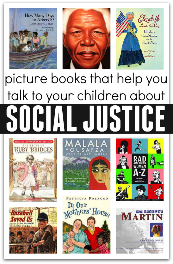 picture books about social justice