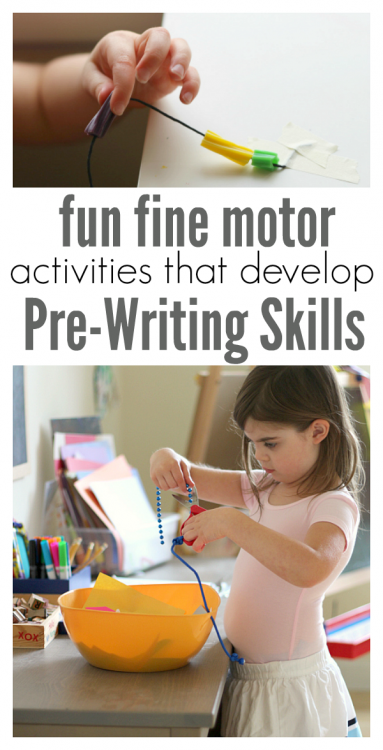no time for flash cards pre-writing activities