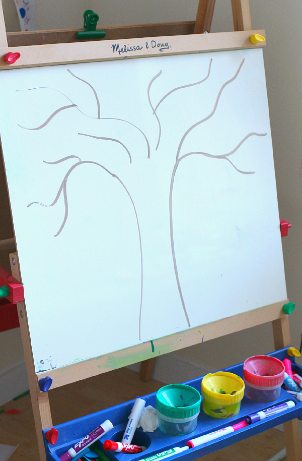 sight word activity for fall kindergarten