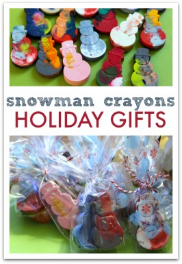 Do it Yourself stocking stuffers recycled crayons