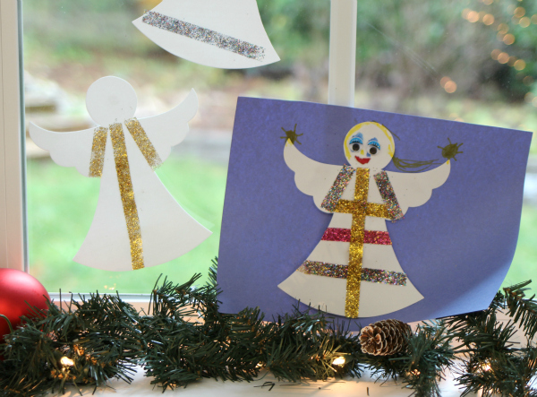 angel craft for kids no time for flash cards