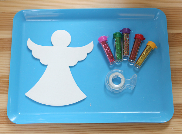 angel craft for preschool