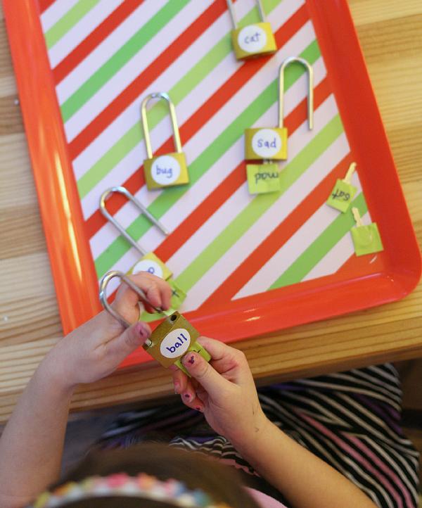 kindergarten rhyming literacy center free choice