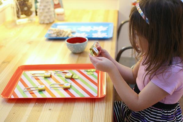 rhyming locks literacy activity for kindergarten