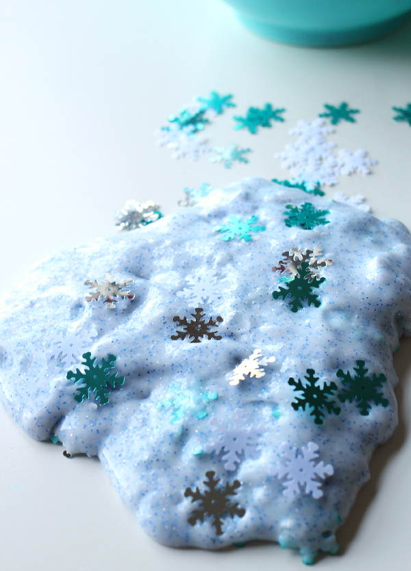 Snow Slime For Kids Frozen Party Favors