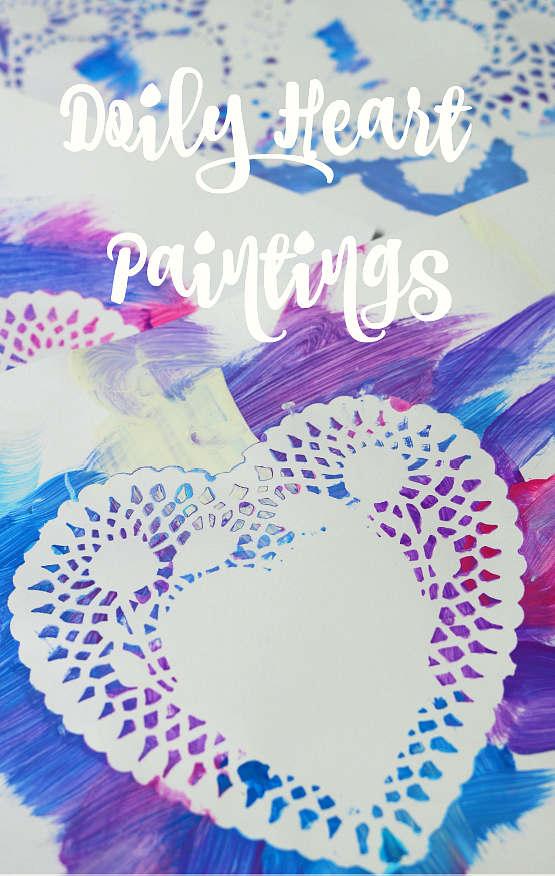 easy valentine's day art for kids