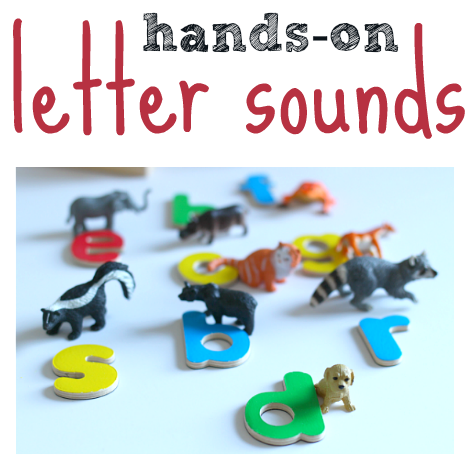 hands on letter sounds activity facebook picture