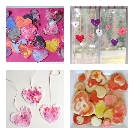 heart crafts for toddlers and preschoolers