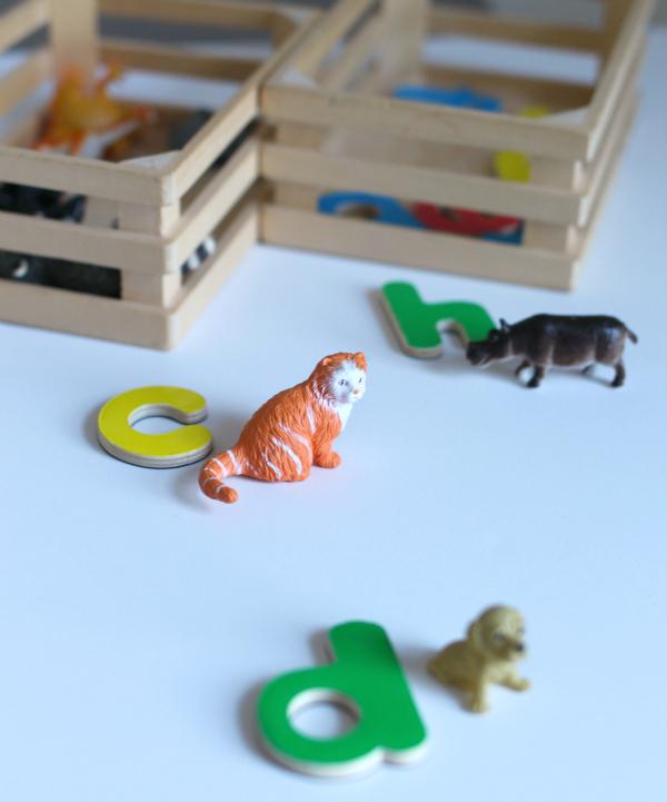 letter sounds activity for kids in kindergarten